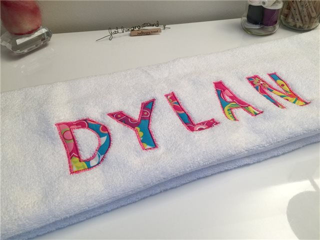 Personalized Towels 1 Justhangingaround Com